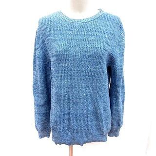 レイジブルー(RAGEBLUE)のレイジブルー RAGEBLUE ニット セーター 長袖 M 青 ブルー /RT(ニット/セーター)