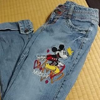 Disney - 女の子 長 デニム ズボン パンツ ディズニー 140