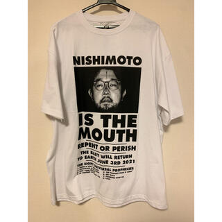 NISHIMOTO IS THE MOUTH 半袖Tシャツ 白 L