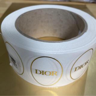 ディオール(Dior)の1ロール1000枚★DIOR シール(ラッピング/包装)