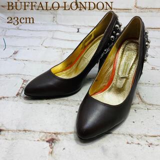 バッファロー(Buffalo)のBUFFALO LONDON ハイヒール ブラウン 23cm(ハイヒール/パンプス)