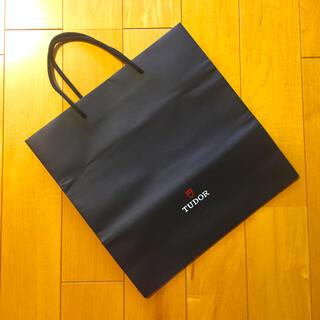 チュードル(Tudor)の【美品】TUDOR チュードル 紙袋[ブラック](腕時計(アナログ))
