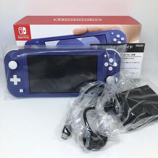 Nintendo Switch - 【美品】ニンテンドースイッチライト ブルー 本体 付属品完備