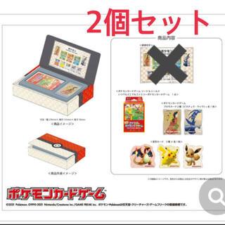 ポケモン - ポケモン切手BOX 新品 ~ポケモンカードゲーム 見返り美人・月に雁セット〜