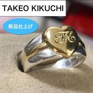 TAKEO KIKUCHI - 新品仕上げ✨TKタケオキクチリング