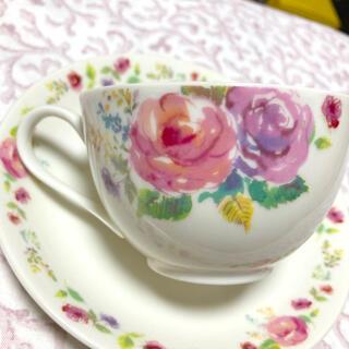 アフタヌーンティー(AfternoonTea)の上品な花柄・Afternoon tea カップ&ソーサー(グラス/カップ)