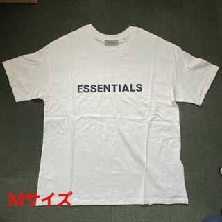 FEAR OF GOD - ESSENTIALS ロゴ Tシャツ ホワイト Mサイズ FOG