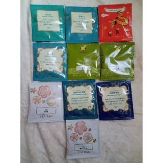 ルピシア(LUPICIA)のルピシア 烏龍茶等ティーバッグ10個セット(茶)