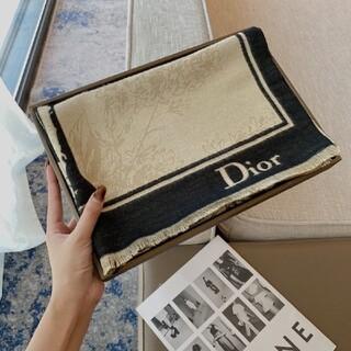 ♪大人気 【新品】 Christian Diorロゴマフラーストール #015