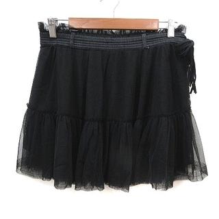 ディーゼル(DIESEL)のディーゼル DIESEL スカート ミニ チュール タグ付き 黒(ミニスカート)