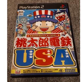 PlayStation2 - ジャンク 桃太郎電鉄USA ドカポンDX等おまけ付き