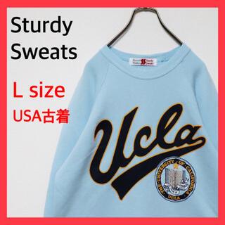 Santa Monica - 古着 OLD USED スウェット トレーナー シャツ UCLA カレッジ 90