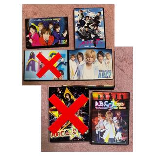 エービーシーズィー(A.B.C.-Z)のA.B.C-Z CD&DVD 選択購入式 @700(アイドルグッズ)