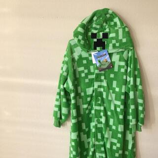 しまむら - マイクラ クリーパー きぐるみ パジャマ ルームウェア