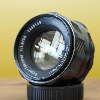 ペンタックス(PENTAX)の【良品】スーパータクマー 55mm f1.8  後期型 オールドの定番(レンズ(単焦点))