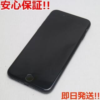 アイフォーン(iPhone)の美品 SIMフリー iPhone7 32GB ブラック (スマートフォン本体)