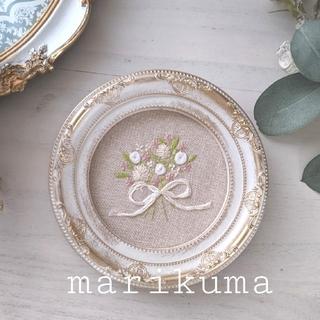 Bouquet刺繍*アンティークフレーム (その他)