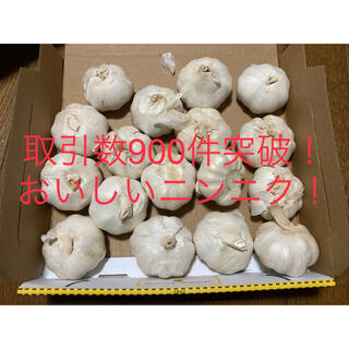 嘉定種 令和3年度産ニンニク 中球(M球程度) 1kg にんにく