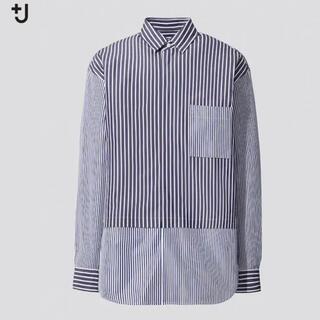 UNIQLO - ユニクロ J スーピマコットンオーバーサイズシャツ