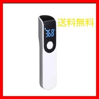 [新品未使用]   非接触温度計  白色 ワンタッチ測定