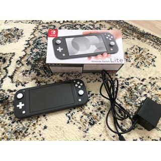 Nintendo Switch - Nintendo Switchライト グレー本体