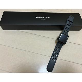 アップルウォッチ(Apple Watch)のApple Watch series3✷NIKEモデル (その他)