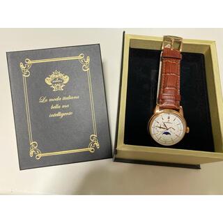 オロビアンコ(Orobianco)のオロビアンコ ムーンフェイズ 腕時計 32mm レッド(腕時計(アナログ))