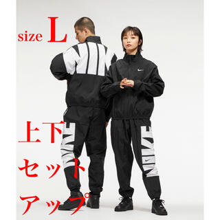 NIKE - 【完売品】NIKE 上下セットアップ 刺繍スウッシュ ナイロンジャケット パンツ