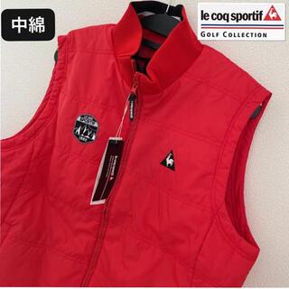le coq sportif - M新品定価20900円/ルコックゴルフ/メンズ/中綿ベスト/ゴルフベスト