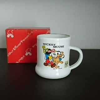 ゾウジルシ(象印)のディズニー  ホーロー マグカップ(グラス/カップ)