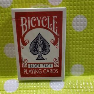 トランプカード バイスクル ライダーバック ポーカーサイズ (赤/レッド)(トランプ/UNO)