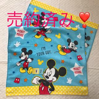 ミッキーマウス(ミッキーマウス)のディズニー ✴︎ ミッキーマウス ♡ バスタオル (タオル/バス用品)