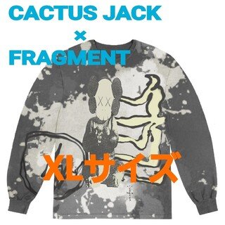FRAGMENT - CACTUS JACK×KAWS FOR FRAGMENT L/S TEEカウズ