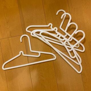 MUJI (無印良品) - 京都市中京区 無印良品 ポリプロピレン 33cm キッズ ハンガー 5本