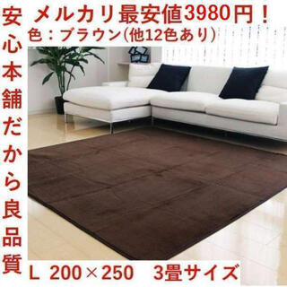 1番売れてるカーペット!!洗える ラグ マット カーペット 絨毯  全12色(カーペット)