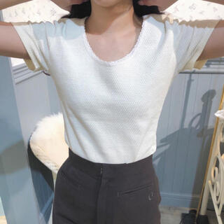 EDIT.FOR LULU - Charles Chaton    cotton knit TEE