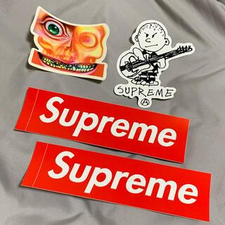 シュプリーム(Supreme)の【未使用】Supreme ステッカー 4枚セット(その他)