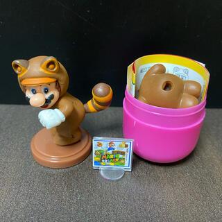 フルタセイカ(フルタ製菓)のチョコエッグ スーパーマリオ ⑩タヌキマリオ(キャラクターグッズ)