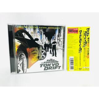 新品同様/映画『ワイルドスピードX3 TOKYO DRIFT』サントラCD/帯付(映画音楽)