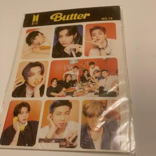 ボウダンショウネンダン(防弾少年団(BTS))のBTS シールステッカー butter(アイドルグッズ)