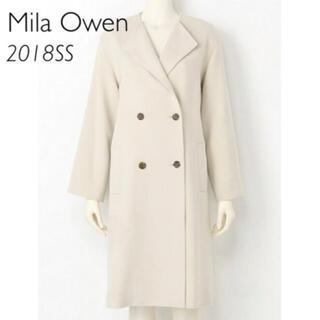 Mila Owen - Mila Owen 衿折り返しミドル丈コート