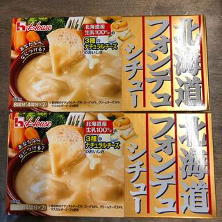 ハウス食品 - 【新品】ハウス北海道フォンデュシチュー 162g ×2個