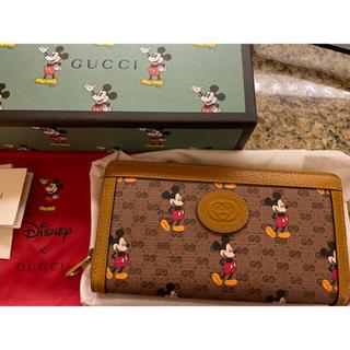 Gucci - 新品未使用 グッチ 限定品 ディズニーコラボ ミッキー 長財布