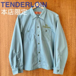 TENDERLOIN - TENDERLOIN 本店限定 T-WORKSHIRTS ワークシャツ