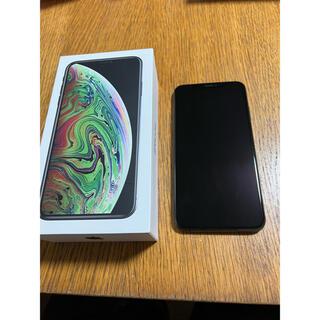 アイフォーン(iPhone)のiPhone XS Max 256GB SIMフリー スペースグレイ 美品(スマートフォン本体)