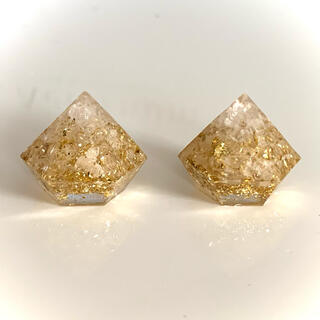 金運盛り塩⭐︎ヒマラヤ岩塩 2個セット 『金』