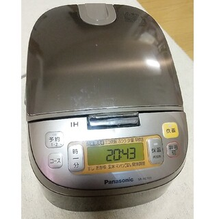 Panasonic - 炊飯器 5.5合炊 パナソニック SR-HC1