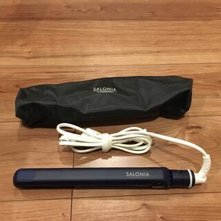SALONIA ストレートアイロン 24mm ネイビー