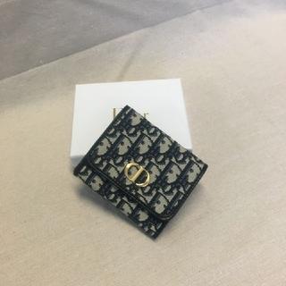 Christian Dior - ❀送料無料❀ディオール 名刺入れ 3つ折り財布 刺繍の定番