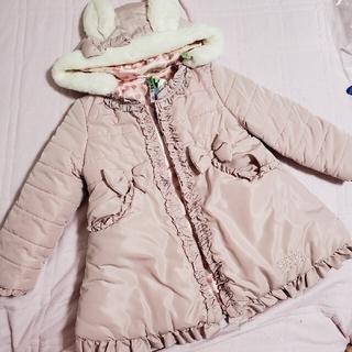 Shirley Temple - 24日までお値下げ うさぎ うさ耳タフタコート シャーリーテンプル ピンク
